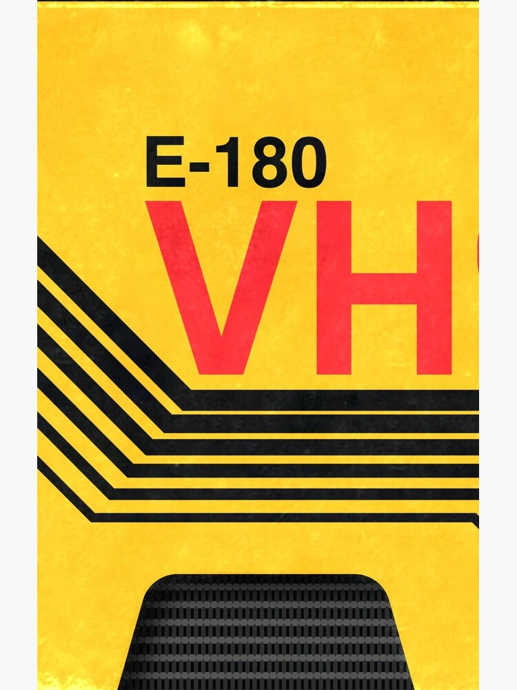 vhs blank cover art by Abile84