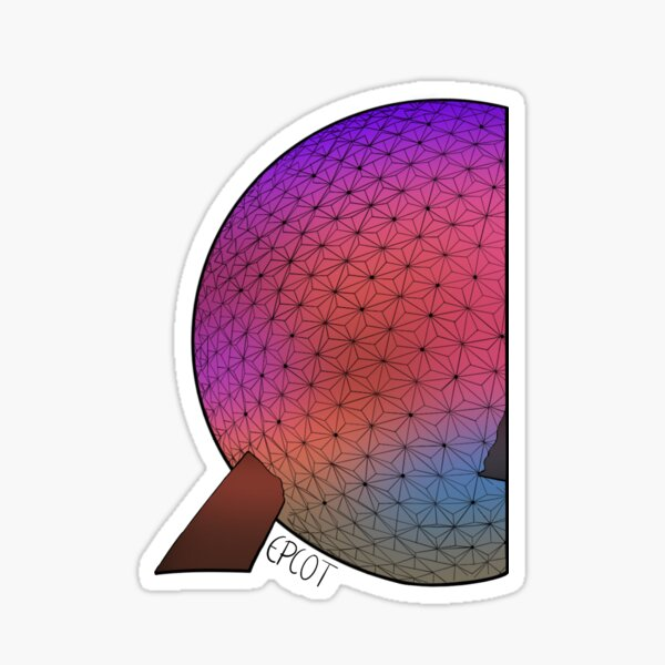 Epcot  Sticker