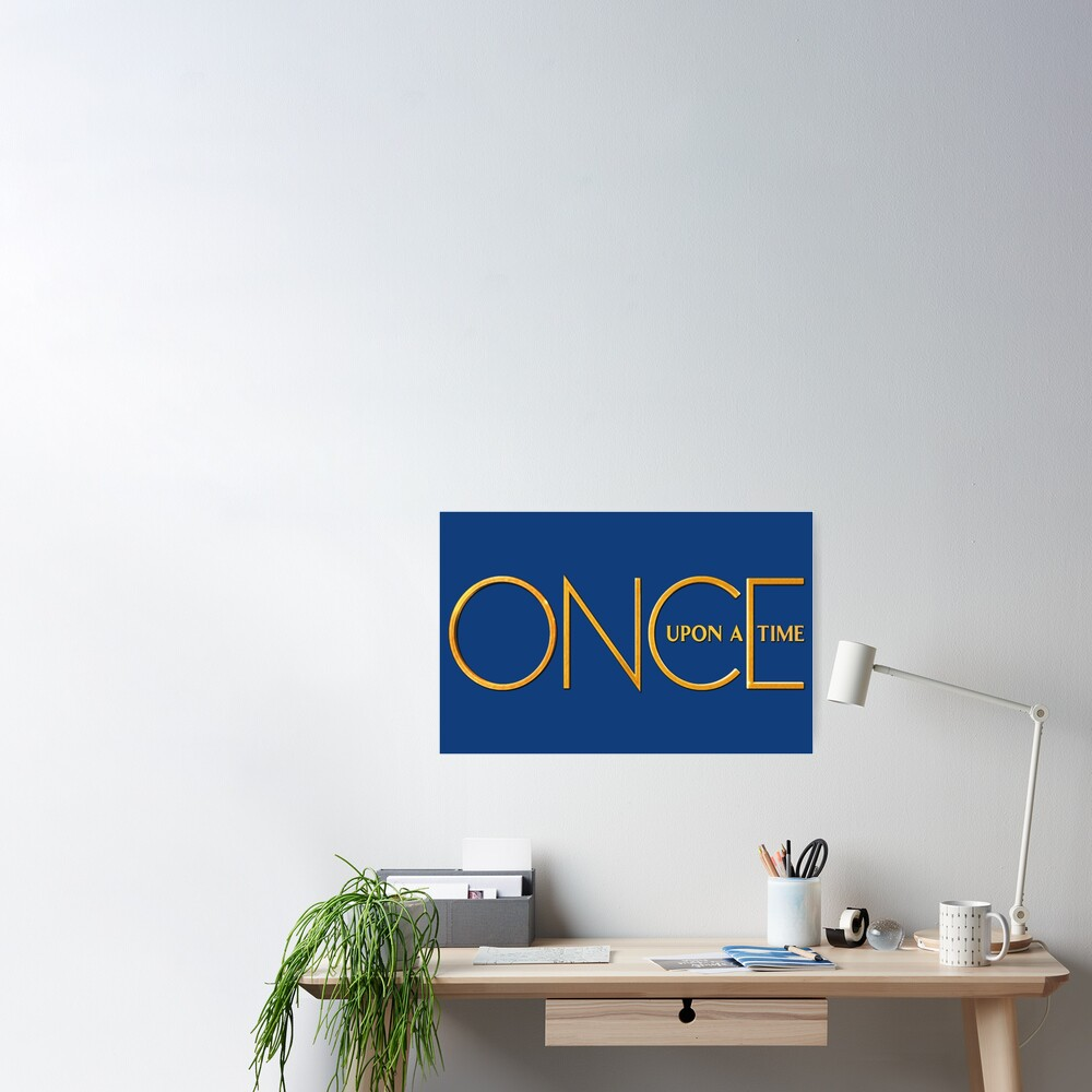 Once Upon A Time - logo Poster