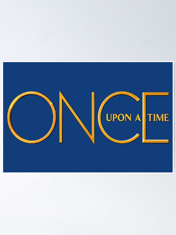 Alternate view of Once Upon A Time - logo Poster