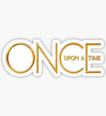 Once Upon A Time - logo Sticker