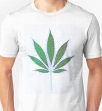 Hemp Lumen #8 Leaf Marijuana/Cannabis/Weed Unisex T-Shirt