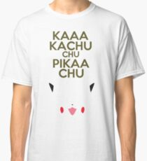 Keep Calm Pikachu Classic T-Shirt