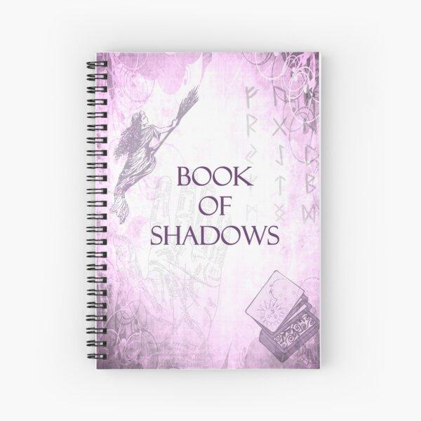 Boof of Shadows Spiral Notebook