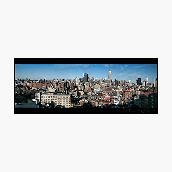 Manhattan Panorama 2003 Photographic Print