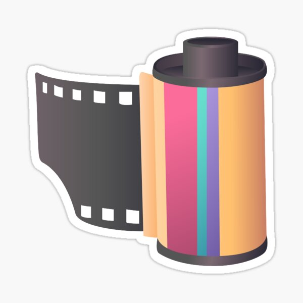 Camera Film Sticker