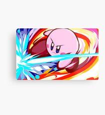 Kirby | Vulcan Kick Metal Print