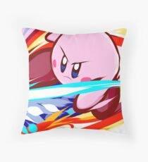 Kirby | Vulcan Kick Throw Pillow