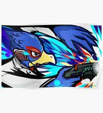 Falco | Blaster Shot Poster