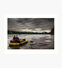 The Nass River Art Print