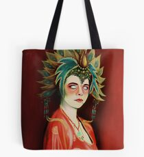 Kim Cattrall in Big Trouble In Little China Tote Bag