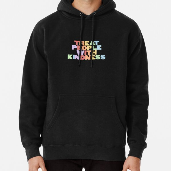 Treat People With Kindness (rainbow) Pullover Hoodie