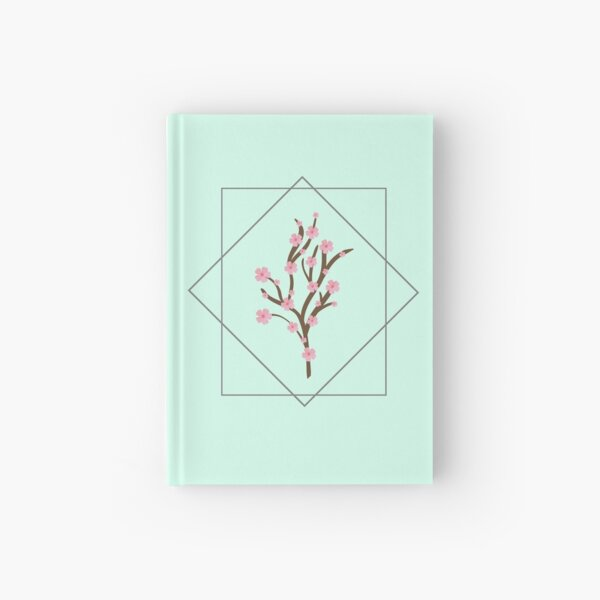 Cuaderno verde menta | Sakura Cuaderno de tapa dura