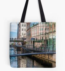 Building Reflections in Aarhus Tote Bag