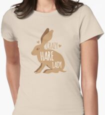 Crazy hare lady T-Shirt