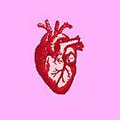 Heart - pixel art by galegshop