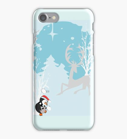 Its a blue Christmas Without You: (820 Views) iPhone Case/Skin