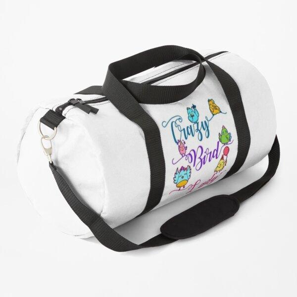 Crazy Bird Lady Duffle Bag