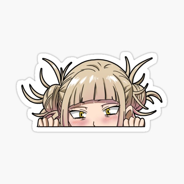 Anime peeker Himiko Toga Sticker