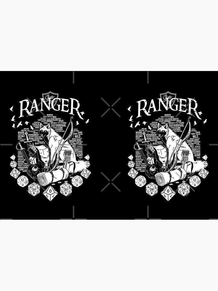 RPG Class Series: Ranger - White Version by Milmino