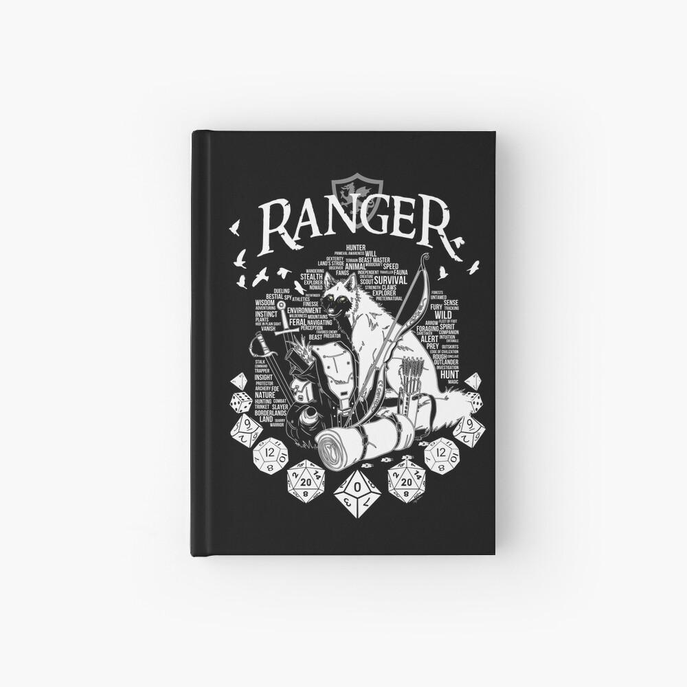 RPG Class Series: Ranger - White Version Hardcover Journal