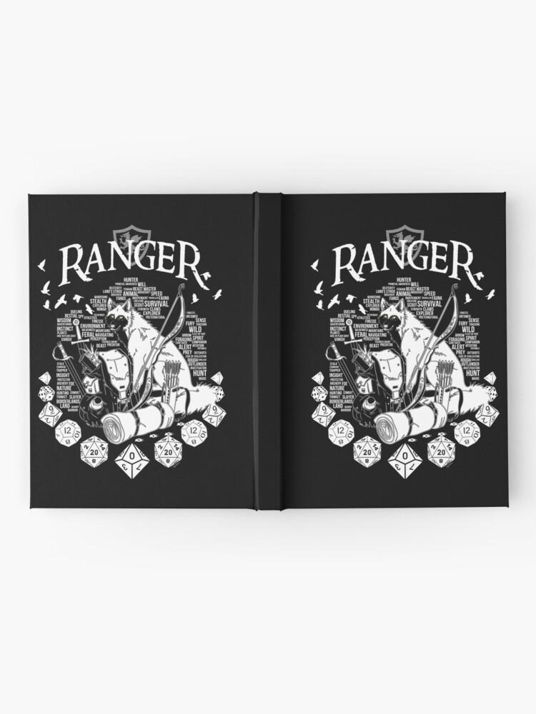 Alternate view of RPG Class Series: Ranger - White Version Hardcover Journal