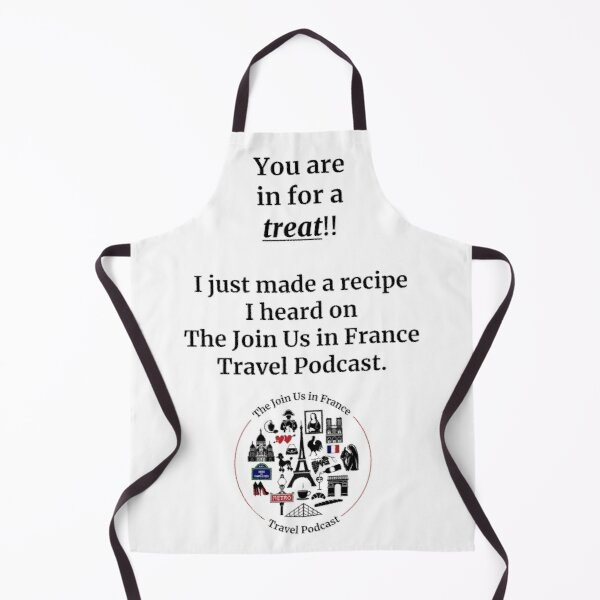 Join Us in France Apron Apron
