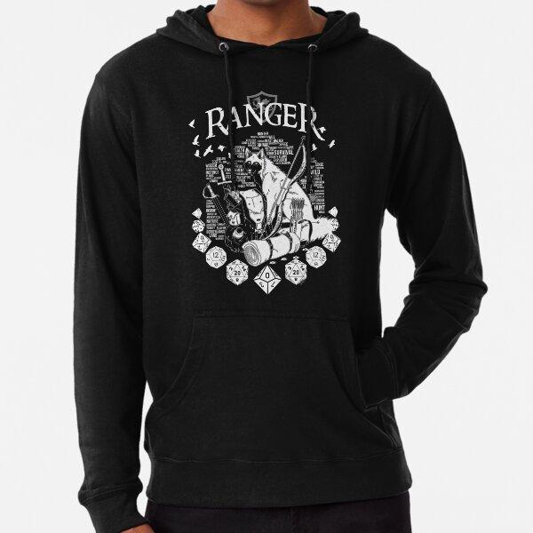 RPG Class Series: Ranger - White Version Lightweight Hoodie