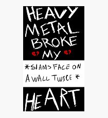 Fall Out Boy Centuries - Heavy Metal Broke My Heart Photographic Print