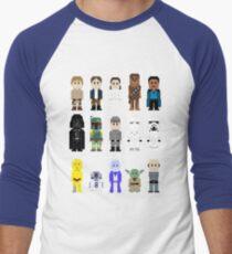 8-Bit ESB Men's Baseball ¾ T-Shirt