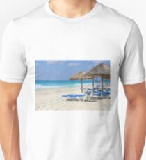 Beach Chairs Cancun Unisex T-Shirt