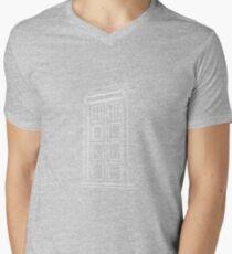 Jump on the TARDIS Mens V-Neck T-Shirt