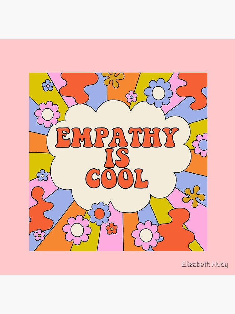 Empathy is Cool - The Peach Fuzz by elizabethhudy