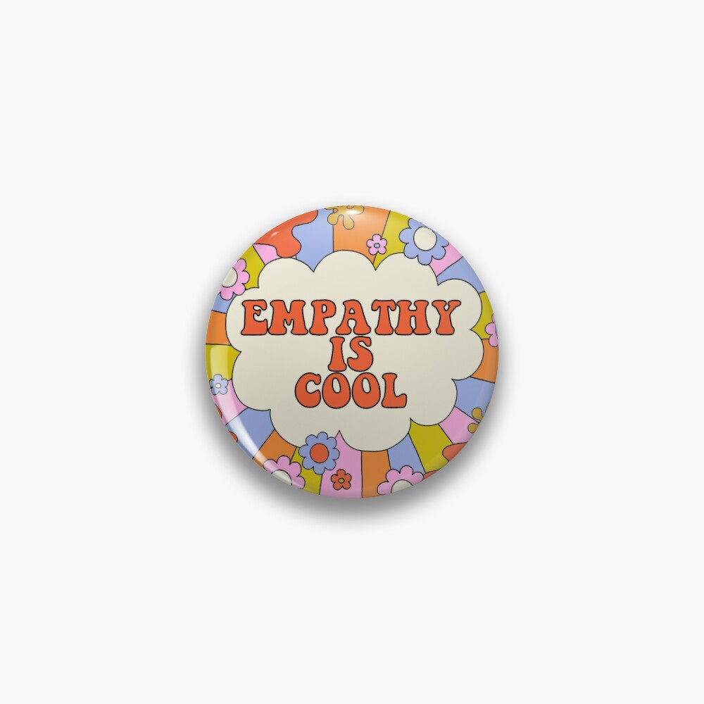 Empathy is Cool - The Peach Fuzz Pin