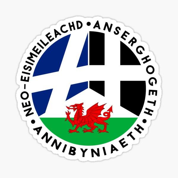 Scottish, Welsh, Cornish Independence, Celtic Nations Sticker