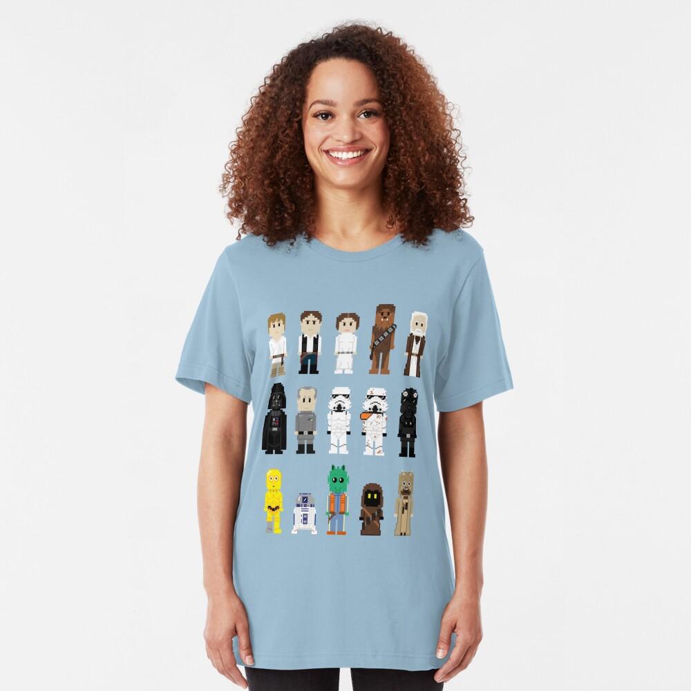 8-Bit ANH Slim Fit T-Shirt