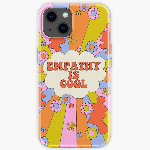 Empathy is Cool - The Peach Fuzz iPhone Soft Case