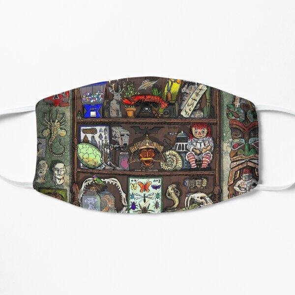 Creepy Cabinet of Curiosities Flat Mask