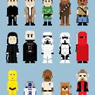 8-Bit ROTJ by AlCreed