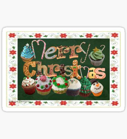 Xmas Cookies & Sweets/ 3 autumn Leaves (20997u Views) Sticker