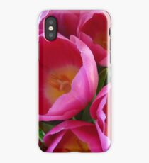 April Tulip Bouquet iPhone Case/Skin