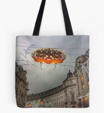 Christmas in London Tote Bag