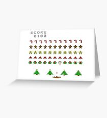 Christmas Invasion Greeting Card