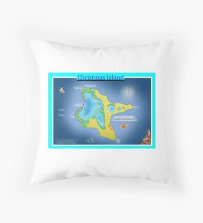 Christmas Island (Kiritimati) Throw Pillow