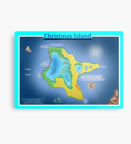 Christmas Island (Kiritimati) Metal Print