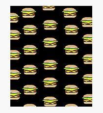 Pixel-Burger Photographic Print