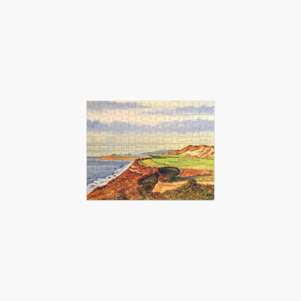 Pacific Dunes - On Bandon Dunes - Golf Course Oregon 13th Hole Jigsaw Puzzle