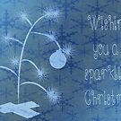 Have A Sparkling Christmas Card by Vickie Emms