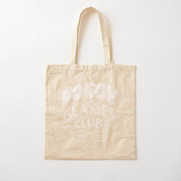 Foggy Glasses Club Cotton Tote Bag