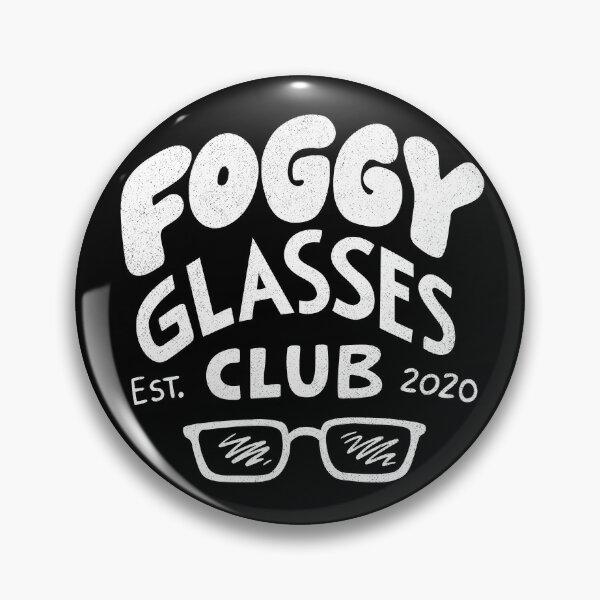 Foggy Glasses Club Button